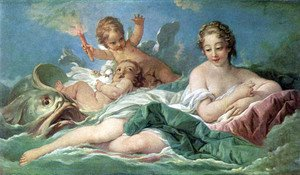 François Boucher - Birth of Venus