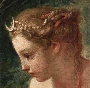 François Boucher - Diana Leaving her Bath (detail 2)