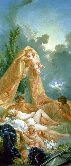 François Boucher - Mars and Venus