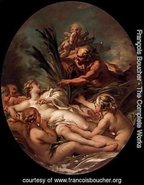 François Boucher - Pan and Syrinx 2