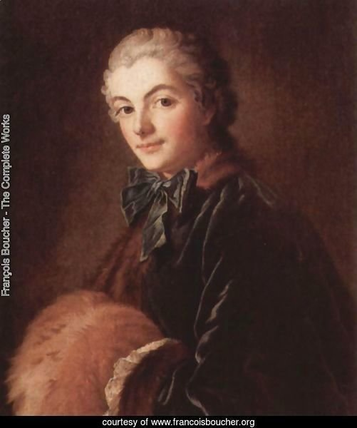 Portrait of a Lady with Muff