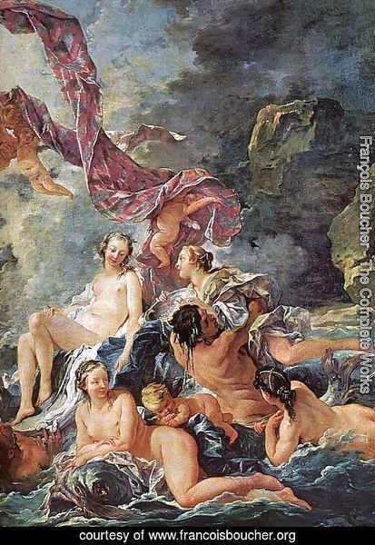 The Triumph of Venus (detail)