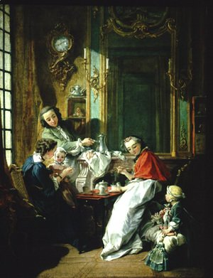 François Boucher - The lunch