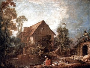 François Boucher - The mill