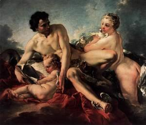 François Boucher - The Education of Cupid 2
