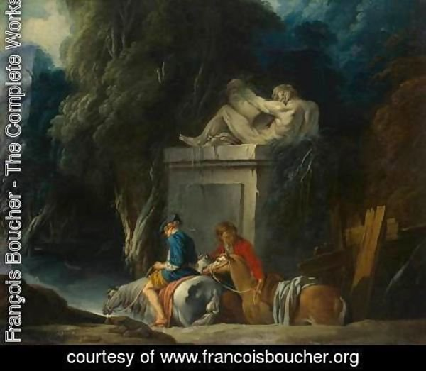 François Boucher - Crossing the Ford