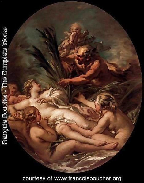 François Boucher - Pan and Syrinx 3