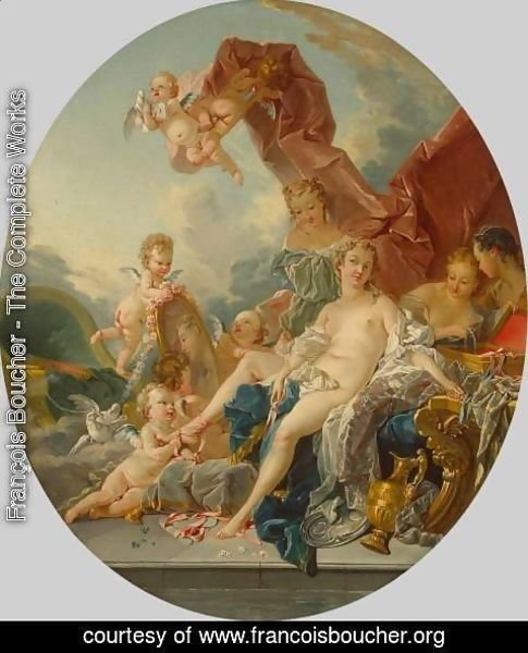 François Boucher - Toilet of Venus