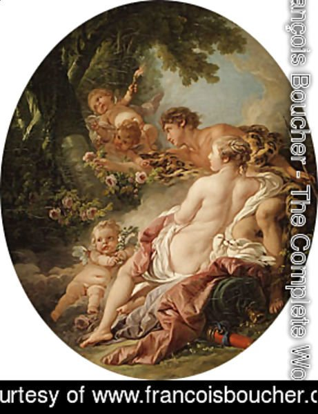 François Boucher - Angelica and Medoro 1763