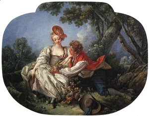 François Boucher - The Four Seasons Autumn 1755
