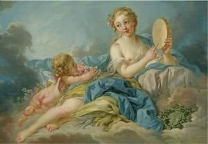 François Boucher - The Muse Erato