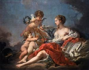 François Boucher - Allegory of Music