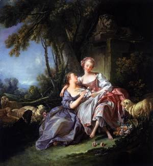 François Boucher - The Love Letter