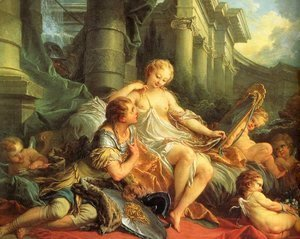François Boucher - Rinaldo and Armida 2