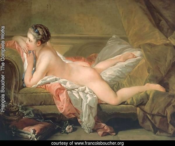 Portrait of Marie-Louis O'Murphy (Nude on a Sofa)