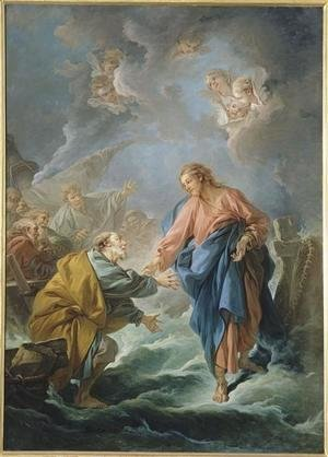 François Boucher - St. Peter Invited to Walk on the Water