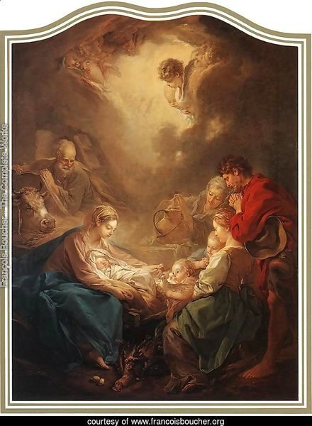 Adoration of the Shepherds 1750