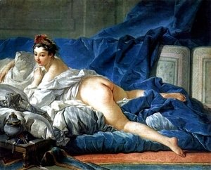 François Boucher - Brown Odalisque (L'Odalisque Brune) 1745