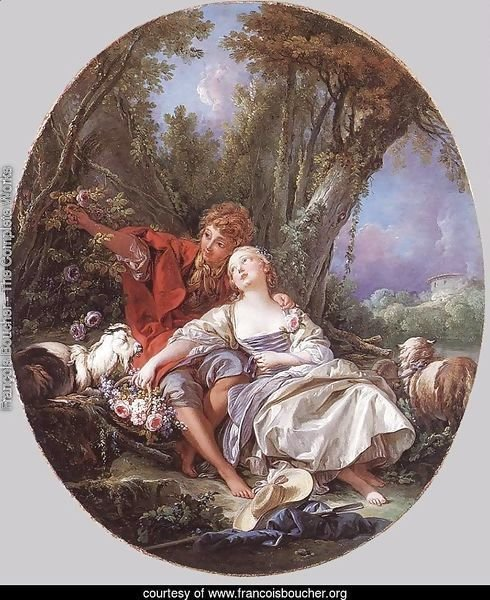 Shepherd and Shepherdess Reposing, 1761
