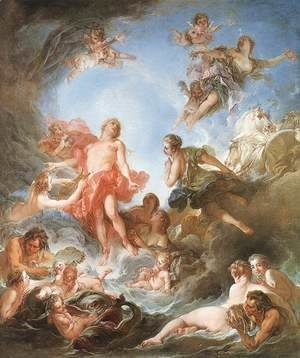 François Boucher - The Rising of the Sun 1753