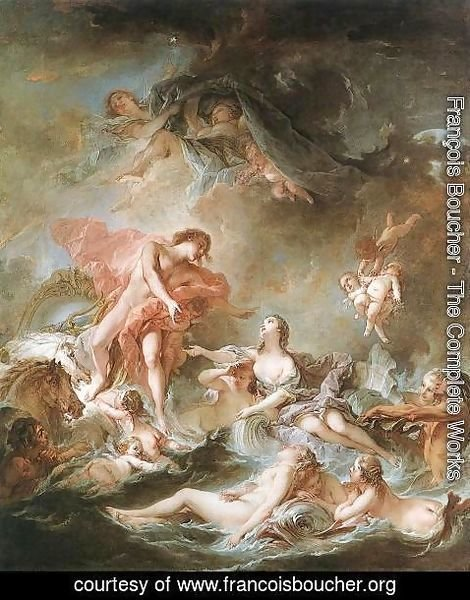 François Boucher - The Setting of the Sun 1752