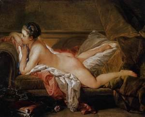 François Boucher - Blond Odalisque (L'Odalisque Blonde) 1752