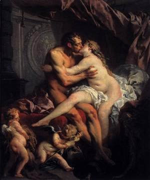 François Boucher - Hercules and Omphale 1735