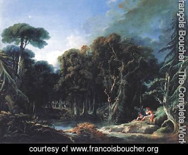 François Boucher - The Forest 1740