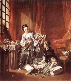 François Boucher - The Milliner (The Morning) 1746