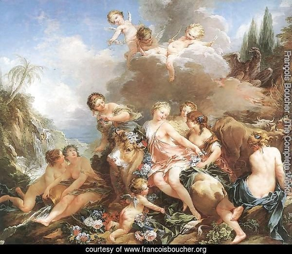 The Rape of Europa 1732-34