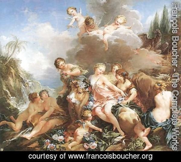 François Boucher - The Rape of Europa 1732-34
