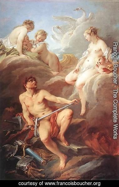 François Boucher - Venus Demanding Arms from Vulcan for Aeneas, 1732