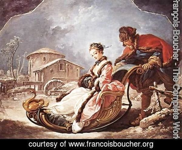 François Boucher - Winter 1735