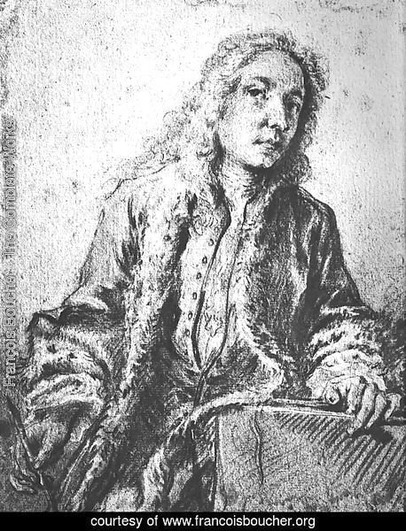 Drawing after a lost Self-Portrait of Watteau