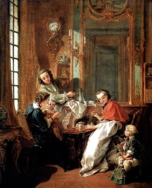 François Boucher - Breakfast